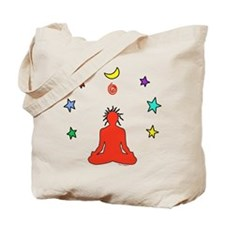 Yogi Electric Red Tote Bag