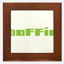 Boffin Framed Tile