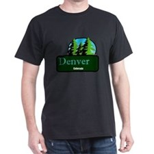 Denver Colorado t shirt truck stop novelty T-Shirt