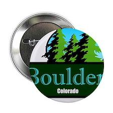 "Boulder Colorado t shirt truck stop novelty 2.25"""