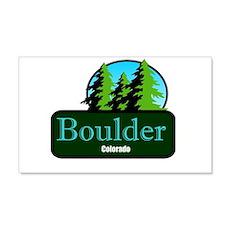 Boulder Colorado t shirt truck stop novelty Wall Decal