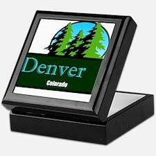 Denver Colorado t shirt truck stop novelty Keepsak
