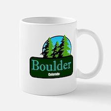 Boulder Colorado t shirt truck stop novelty Mug