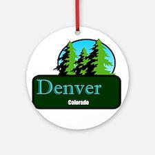 Denver Colorado t shirt truck stop novelty Ornamen