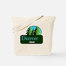 Denver Colorado t shirt truck stop novelty Tote Ba