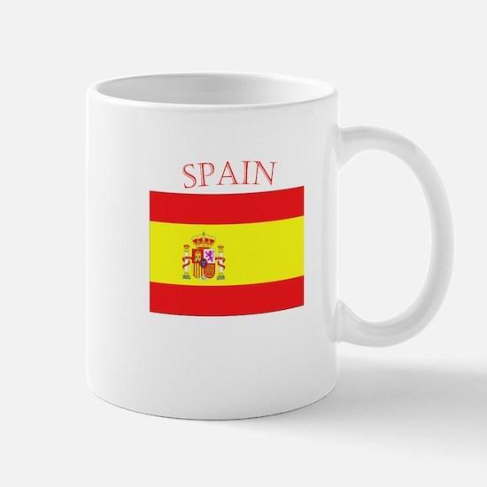 Spanish Flag spain yellow Mug