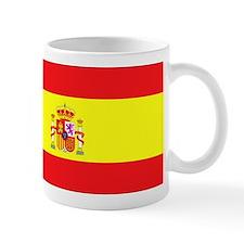 Spanish Flag spain yellow Small Mug