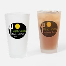 death valley national park Nevada Drinking Glass