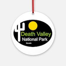 death valley national park Nevada Ornament (Round)