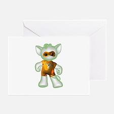 Ghost Kitten Greeting Cards (Pk of 10)