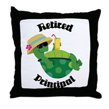Retired Principal Gift Throw Pillow