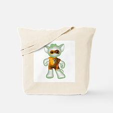 Ghost Kitten Tote Bag