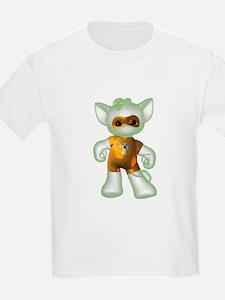 Ghost Kitten Kids T-Shirt