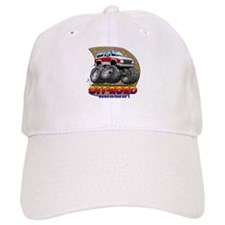 White Red B2 Baseball Cap