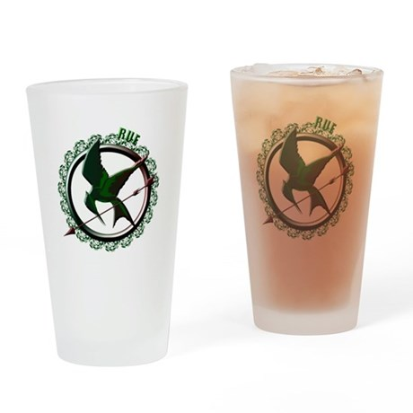 Rue the Tribute of District 11 Drinking Glass