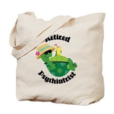 Retired Psychiatrist Gift Tote Bag