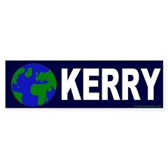 Earth Kerry Bumper Bumper Sticker