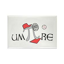 Funny um-Pi-re Rectangle Magnet (100 pack)