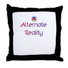 Alternate Reality Mitt Romney 2012 Throw Pillow