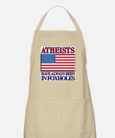 ATHEISTS IN FOXHOLES BBQ Apron