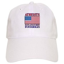 ATHEISTS IN FOXHOLES Baseball Cap