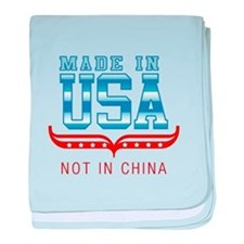 MADE IN USA - NOT IN CHINA baby blanket