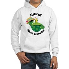 Retired School Counselor Gift Jumper Hoody