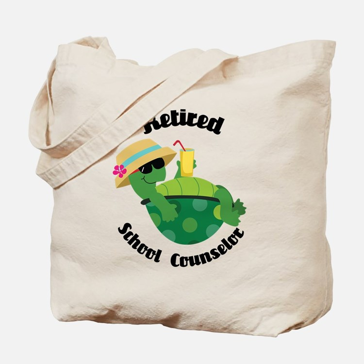 Retired School Counselor Gift Tote Bag