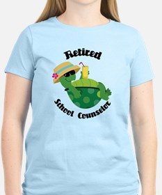 Retired School Counselor Gift T-Shirt