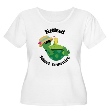 Retired School Counselor Gift Women's Plus Size Sc