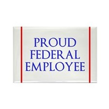 Federal Pride Rectangle Magnet