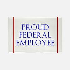 Federal Pride Rectangle Magnet