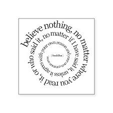 buddha quote Rectangle Sticker