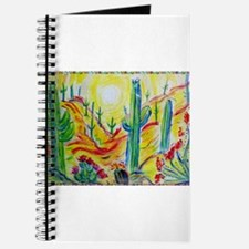 Saguaro Cactus, desert Southwest art! Journal