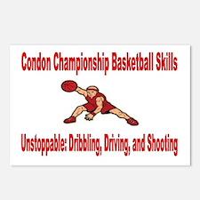 CONDON CHAMPIONSHIP BASKETBALL SKILLS Postcards (P