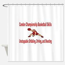 CONDON CHAMPIONSHIP BASKETBALL SKILLS Shower Curta