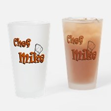 chef mike color.png Drinking Glass