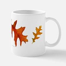 Autumn Oak Leaves Mug