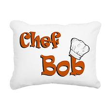 chef bob color.png Rectangular Canvas Pillow