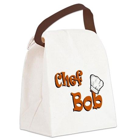 chef bob color.png Canvas Lunch Bag