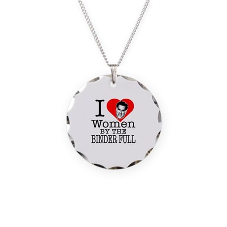 Mitt Romney: I Love Women By The Binder Full Neckl