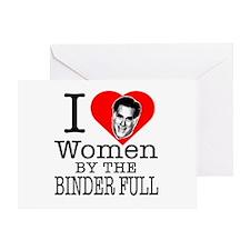 Mitt Romney: I Love Women By The Binder Full Greet