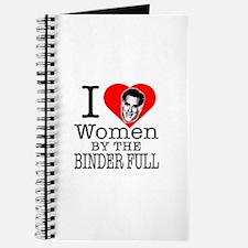 Mitt Romney: I Love Women By The Binder Full Journ