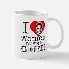 Mitt Romney: I Love Women By The Binder Full Mug