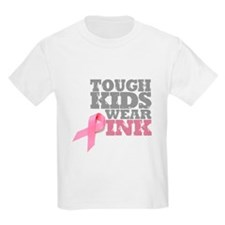 Breast Cancer Awareness Ash Grey T-Shirt T-Shirt