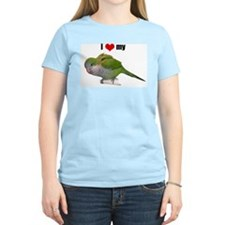 with Quaker parrot T-Shirt