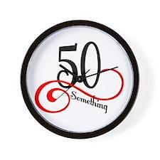 Cute Happy 50th birthday Wall Clock