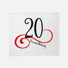 Cute 20 years birthday Throw Blanket