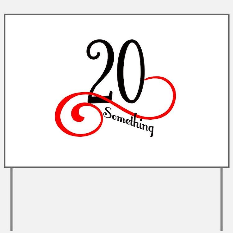 Cute 20Th Birthday Cute 20th Birthday Yard Signs | Custom Yard ...