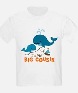 Big Cousin - Whale T-Shirt